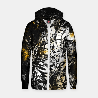 Thumbnail image of Golden Time Stand Sudadera con capucha y cremallera , Live Heroes
