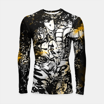 Thumbnail image of Golden Time Stand Longsleeve rashguard, Live Heroes