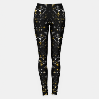 Miniature de image de Fancy Ethnic Print Leggings, Live Heroes