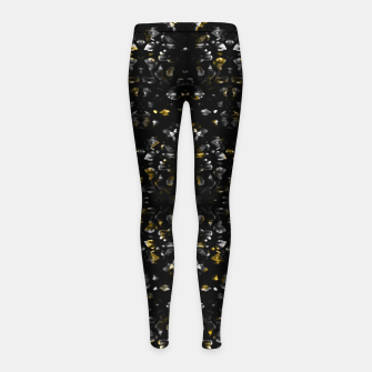 Miniature de image de Fancy Ethnic Print Girl's leggings, Live Heroes