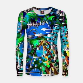 Thumbnail image of AcidMacid Women sweater, Live Heroes