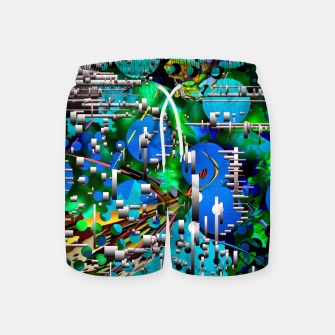 Thumbnail image of AcidMacid Swim Shorts, Live Heroes