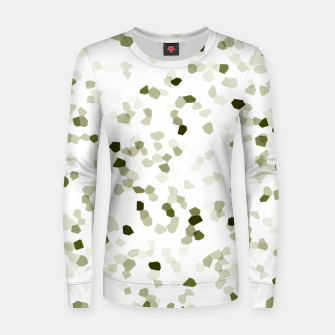 Miniature de image de Square Motif Abstract Geometric Pattern Women sweater, Live Heroes