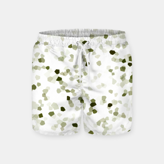 Miniature de image de Square Motif Abstract Geometric Pattern Swim Shorts, Live Heroes