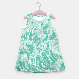Miniaturka Ocean Girl's summer dress, Live Heroes