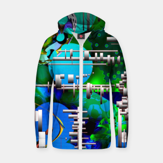 Thumbnail image of AcidMacid Zip up hoodie, Live Heroes