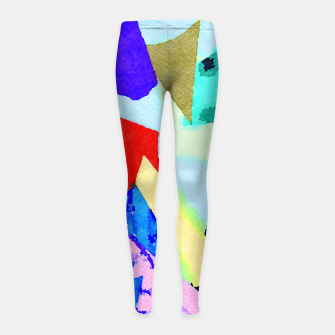 Thumbnail image of Breed Girl's leggings, Live Heroes