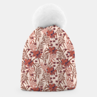 Miniatur Floral tropical pink 37 Gorro, Live Heroes
