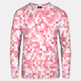 Miniature de image de Solid arrows in soft pink shades, cute baby flush pink pattern Unisex sweater, Live Heroes
