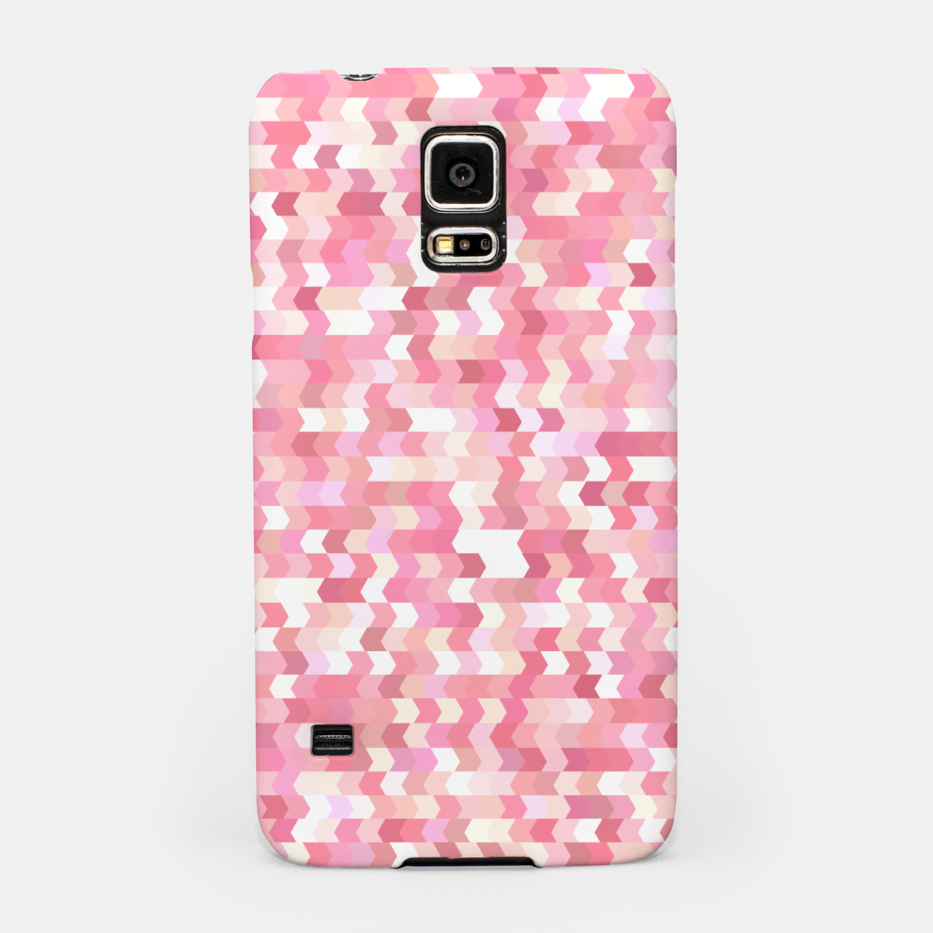 Foto Solid arrows in soft pink shades, cute baby flush pink pattern Samsung Case - Live Heroes