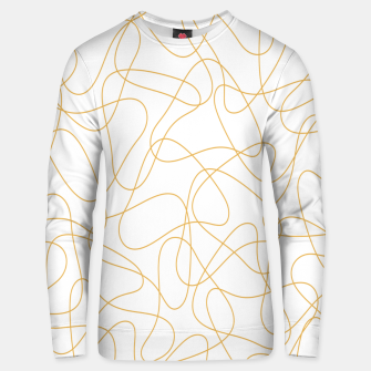 Miniaturka Abstract pattern - bronze and white. Unisex sweater, Live Heroes