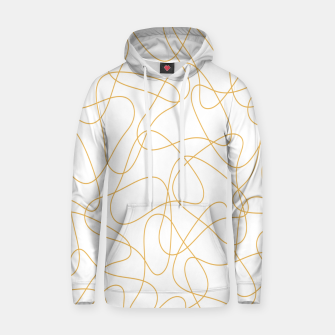 Miniaturka Abstract pattern - bronze and white. Hoodie, Live Heroes