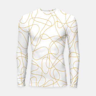 Thumbnail image of Abstract pattern - bronze and white. Longsleeve rashguard , Live Heroes