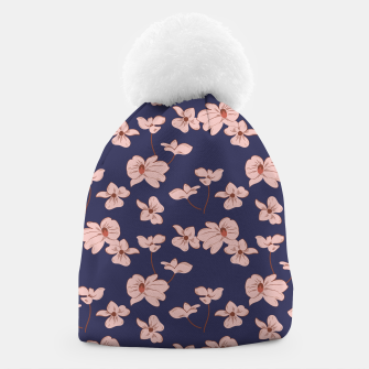 Thumbnail image of Dark Tropical Floral 01 Gorro, Live Heroes