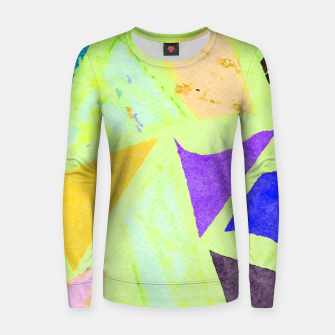 Thumbnail image of Bad Medicine Women sweater, Live Heroes