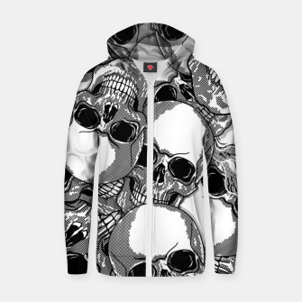Thumbnail image of Morte - Zip up hoodie, Live Heroes