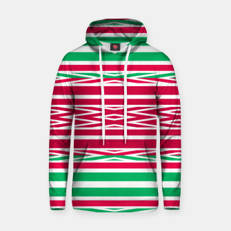 Thumbnail image of Christmas decor red green white ornament decor Hoodie, Live Heroes