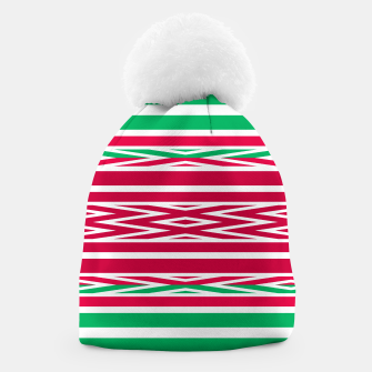Thumbnail image of Christmas decor red green white ornament decor Beanie, Live Heroes