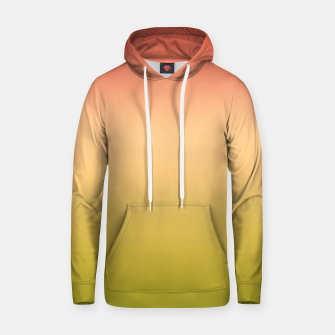 Thumbnail image of Coral olive Ombre gradient summer mango green tropical colors Hoodie, Live Heroes