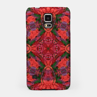Miniature de image de Ornament, ethnic, geometric tribal ornament mosaic kaleidoscope Samsung Case, Live Heroes