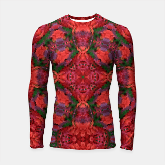 Thumbnail image of Ornament, ethnic, geometric tribal ornament mosaic kaleidoscope Longsleeve rashguard , Live Heroes