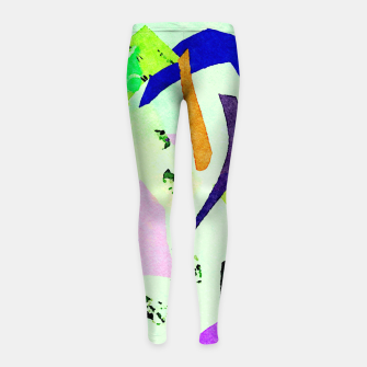 Thumbnail image of Misunderstood Girl's leggings, Live Heroes