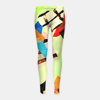 Thumbnail image of Someday Girl's leggings, Live Heroes