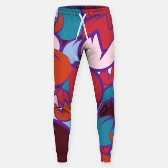 Thumbnail image of Shrine rain light blue Sweatpants, Live Heroes
