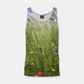 Thumbnail image of summer meadow Tank Top, Live Heroes
