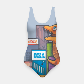 Thumbnail image of Goofzilla digital edit Swimsuit, Live Heroes
