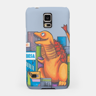 Thumbnail image of Goofzilla digital edit Samsung Case, Live Heroes