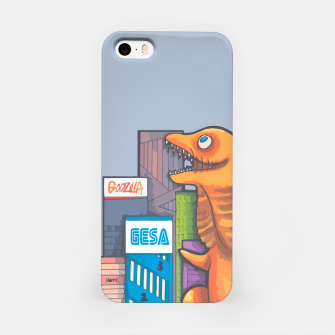 Thumbnail image of Goofzilla digital edit iPhone Case, Live Heroes