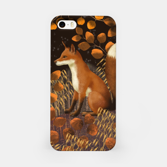 Thumbnail image of Fox under a Starry Night iPhone Case, Live Heroes