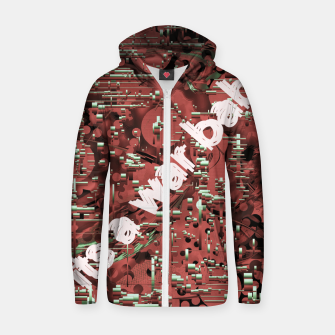 Thumbnail image of Its a war baby  Zip up hoodie, Live Heroes
