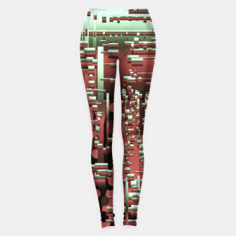 Thumbnail image of Its a war baby  Leggings, Live Heroes