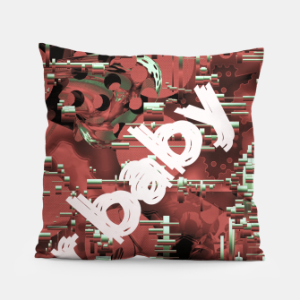 Thumbnail image of Its a war baby  Pillow, Live Heroes
