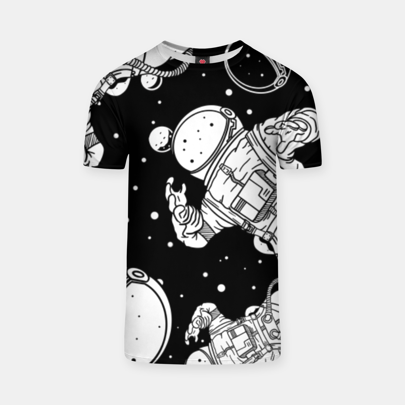 Image of SPACE EXPLORATION - T-shirt - Live Heroes