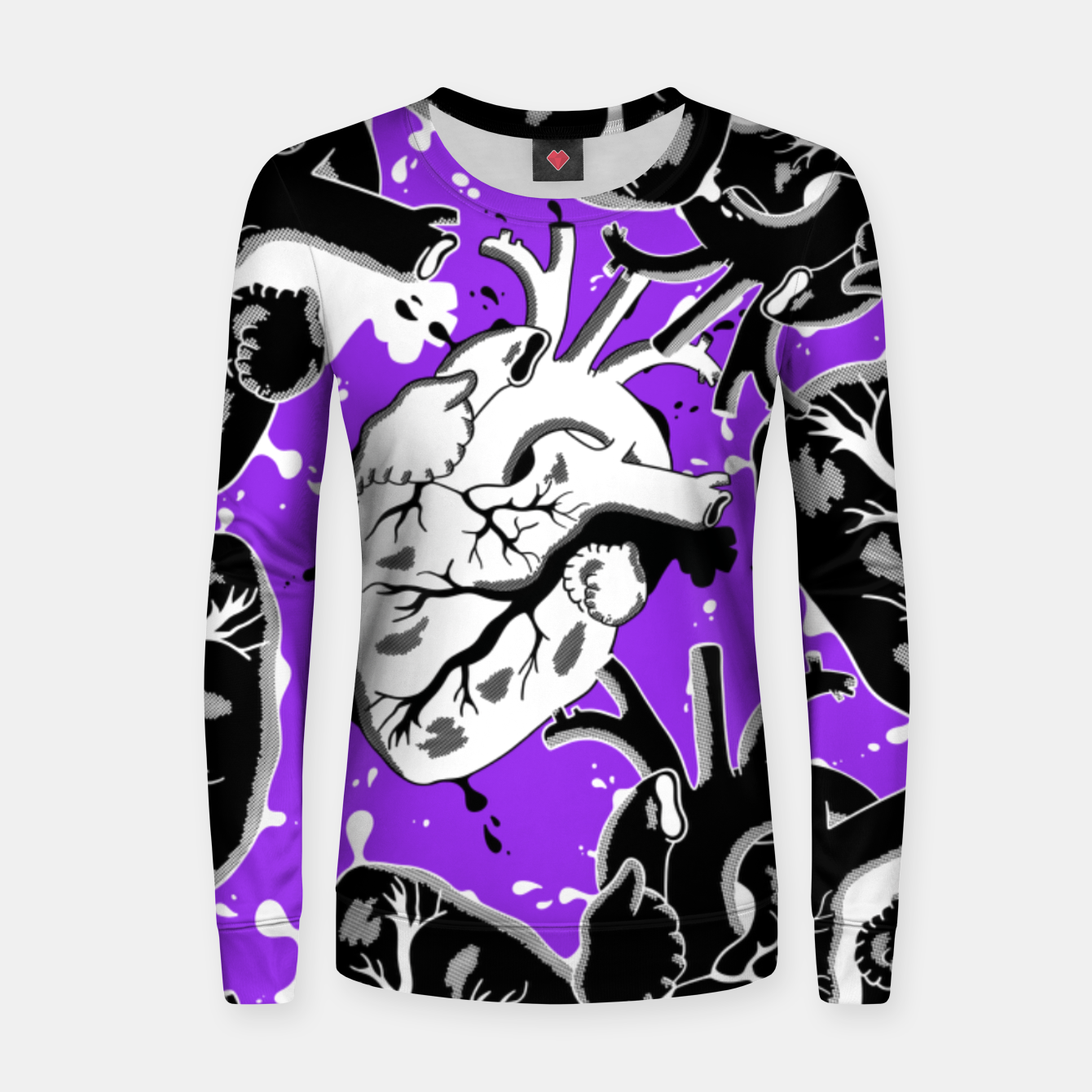 Image of Amore - Women sweater - Live Heroes