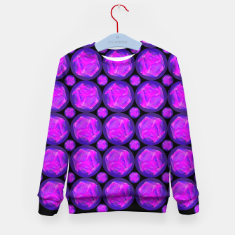 Thumbnail image of Pink Art-I-Fact Kid's sweater, Live Heroes