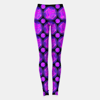 Miniaturka Pink Art-I-Fact Leggings, Live Heroes
