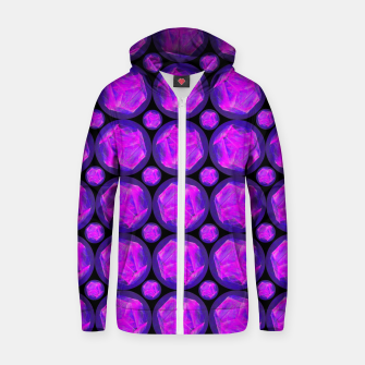 Pink Art-I-Fact Zip up hoodie thumbnail image