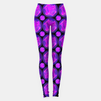 Miniature de image de Pink Art-I-Fact Leggings, Live Heroes