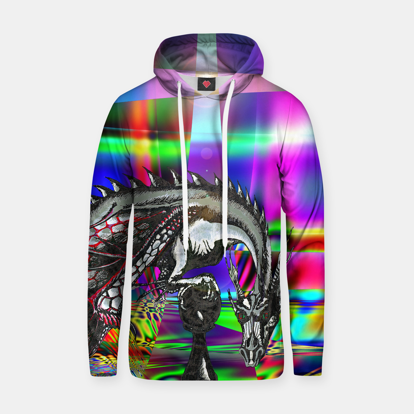 Image of pawn dragon hoody - Live Heroes