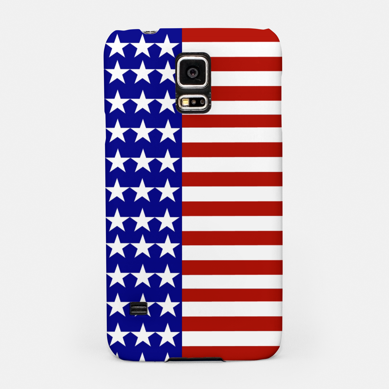 Image of Patriotic Stars and Stripes Samsung Case - Live Heroes