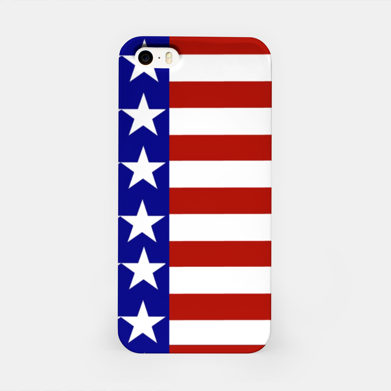 Image of Patriotic Stars and Stripes iPhone Case - Live Heroes