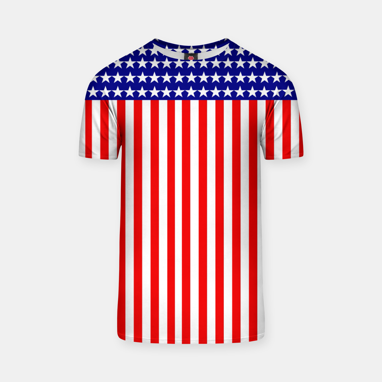 Image of Patriotic USA Stars and Stripes T-shirt - Live Heroes