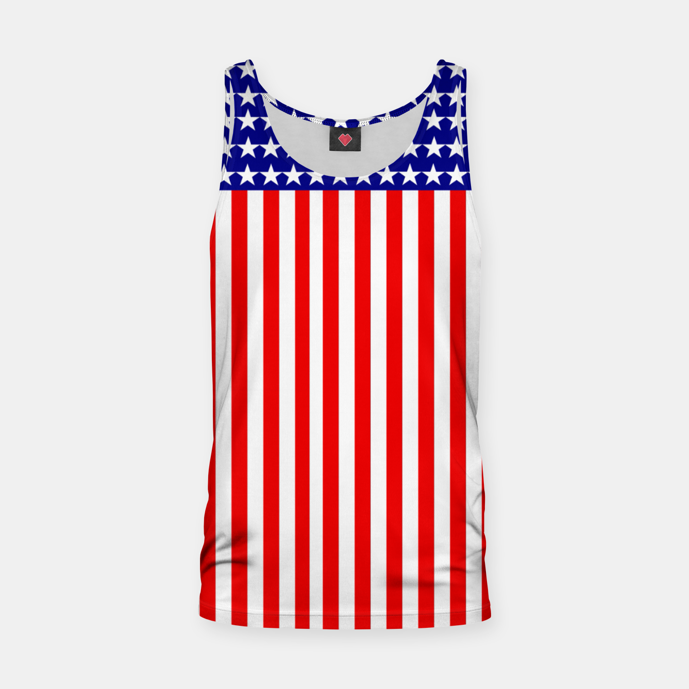 Image of Patriotic USA Stars and Stripes Tank Top - Live Heroes