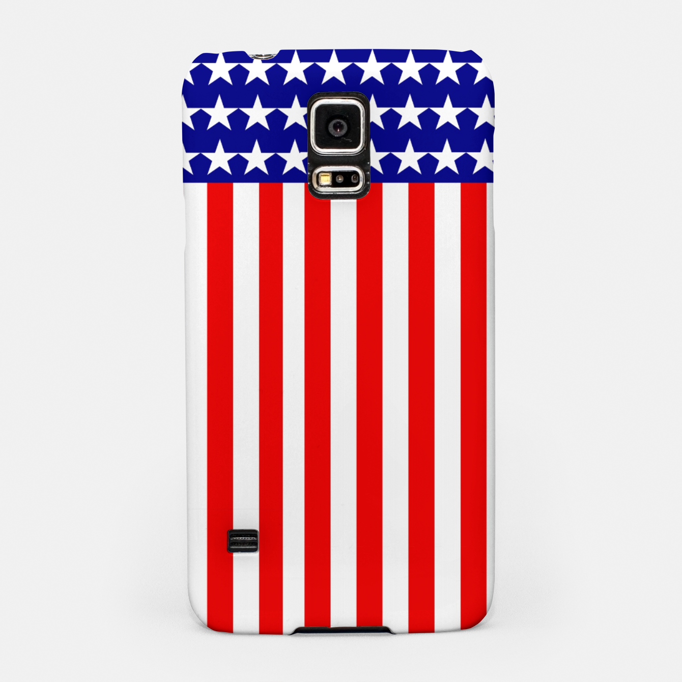 Image of Patriotic USA Stars and Stripes Samsung Case - Live Heroes