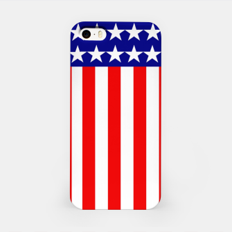 Thumbnail image of Patriotic USA Stars and Stripes iPhone Case, Live Heroes