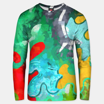 Thumbnail image of Blobs Collage Unisex sweater, Live Heroes